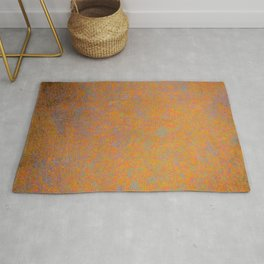 Abstract rusty texture Rug