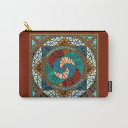 Fire & Water Mandala Carry-All Pouch