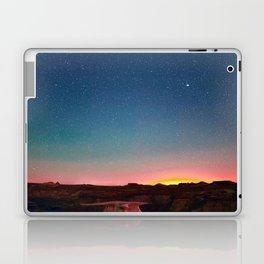 Bisti Badlands Hoodoos Under New Mexico Stary Night Laptop & iPad Skin