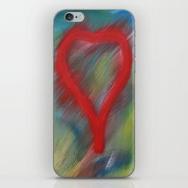 A full heart iPhone Skin