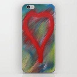 A full heart iPhone Skin