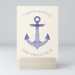 Smooth Sea Mini Art Print