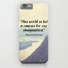 The World is a Canvas iPhone 6 Slim Case