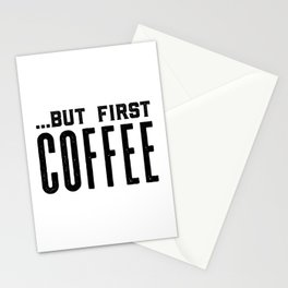 But first coffee, business printable, coffee morning, modern kitchen art, quote kitchen print, coffe Stationery Cards