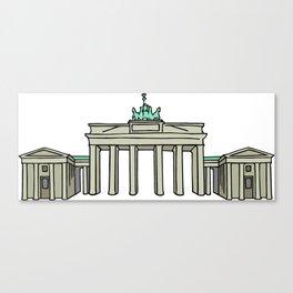 Brandenburg Gate in Berlin Canvas Print