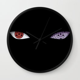 The Ultimate Eyes Wall Clock