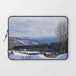 Gaspesie in Winter Laptop Sleeve