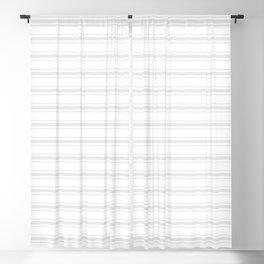 Creamy Tofu White Mattress Ticking Wide Striped Pattern - Fall Fashion 2018 Blackout Curtain