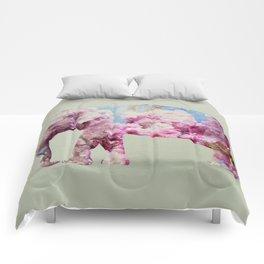 Cherry blossom Elephant Comforters