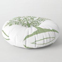 Pear Tree (Green) Floor Pillow