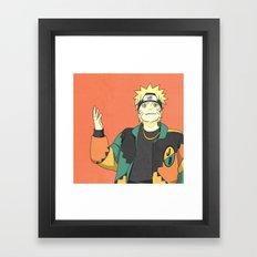 Naruto X Martin Solo Framed Art Print