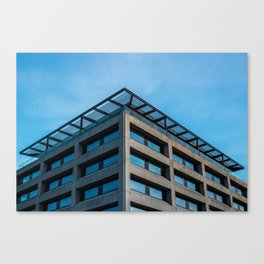 Dublin - Blue Canvas Print