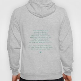 Oceans Watercolor (for Lyndsie Brooker) Hoody