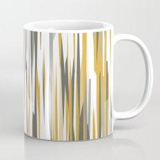 Gold gray and white Mug