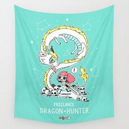 Dragon Hunter Wall Tapestry