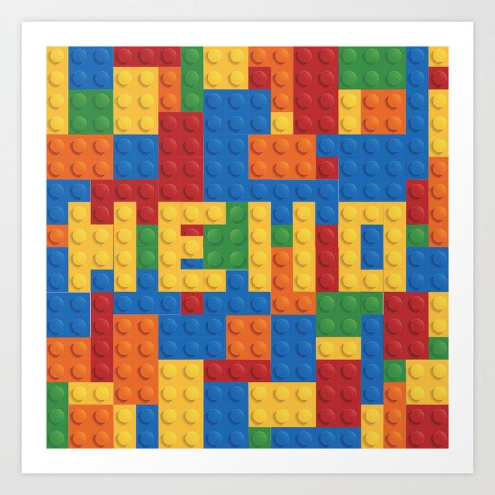 Legos Kunstdrucke