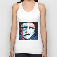 poe Tank Tops featuring Poe by J. John Whitmore