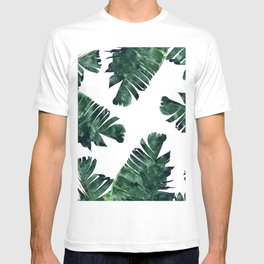 Banana Leaf Watercolor #society6 #buy #decor T-shirt