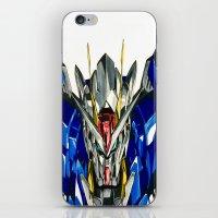 gundam iPhone & iPod Skins featuring Gundam 00 by Glen Howy