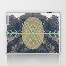 Mountains With Green Laptop & iPad Skin