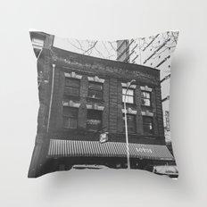 Art Deco Architecture in Portland, Oregon Throw Pillow