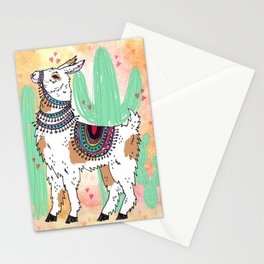 I llama you Stationery Cards