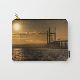 Severn Bridge Sunset  Carry-All Pouch
