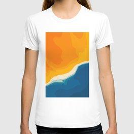 Seascape aerial view T-shirt