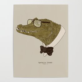 Spectacle(d) Caiman Poster