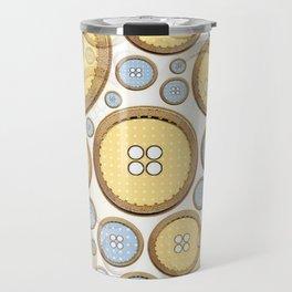 Button Puzzle Travel Mug