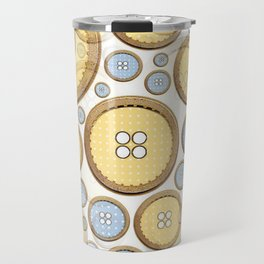 Button Puzzle Travel Mug