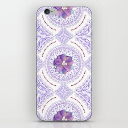 Victorian Flowers iPhone Skin