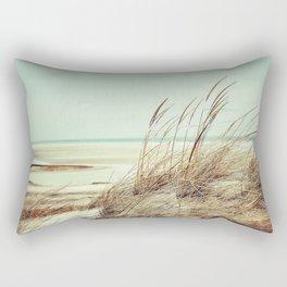 vintage seashore Rectangular Pillow