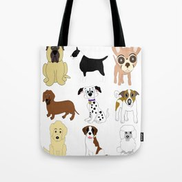 Pet dogs design Tote Bag