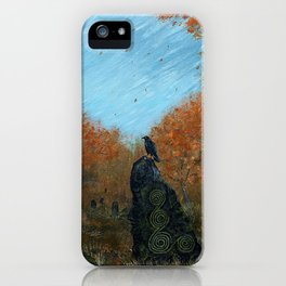 The Old Gods Linger iPhone Case