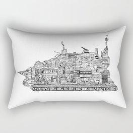 War Behemoth Rectangular Pillow