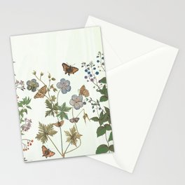 The fragility of living - botanical illustration Stationery Cards