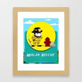 Molar Rescue Framed Art Print