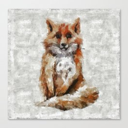 Foxy Fox Canvas Print