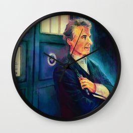 12th Doctor Wall Clock
