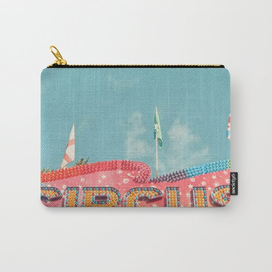 Circus Lights Carry-All Pouch