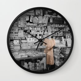 Vintage Drug Store Wall Clock
