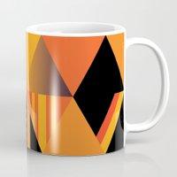 pumpkin Mugs featuring pumpkin by Gray