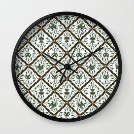 Batik Sido Luhur - Authentic Traditional Pattern Wall Clock