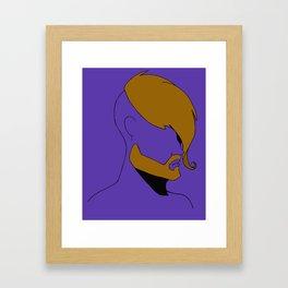 HIPSTER STYLE Framed Art Print