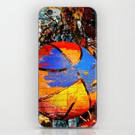Baketball art swoosh 63 iPhone Skin