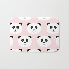 Panda Love -Pink Bath Mat