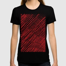 Candy Cane (The raw version) - Christmas Illustration T-shirt