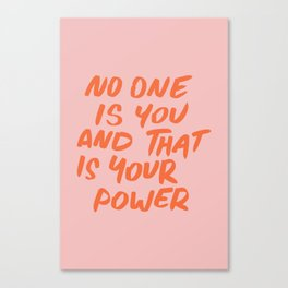 Power Canvas Print