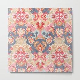 Multicolore Artwork Design Metal Print